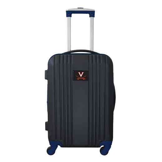 CLVIL208-NAVY: NCAA Virginia Cavaliers  21IN Hardcase 2TONE Spinner NVY