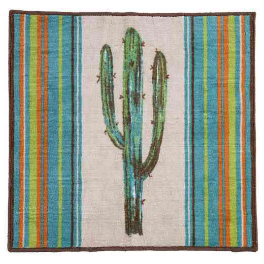 BW1754: HEA Rug with Cactus, 24x36