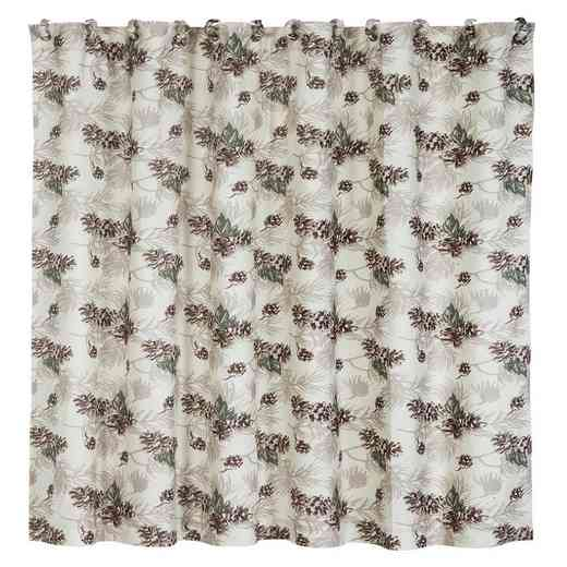 NL1733SC: HEA Forest Pine Shower Curtain
