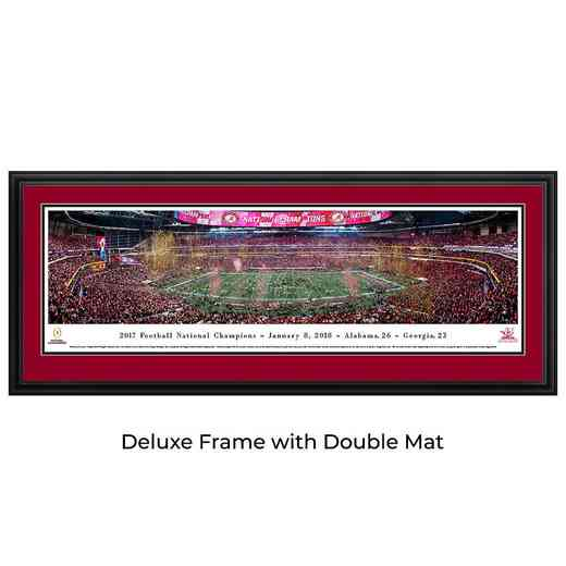 Alabama - 2017 College Football National Champion   - Panoramic Print