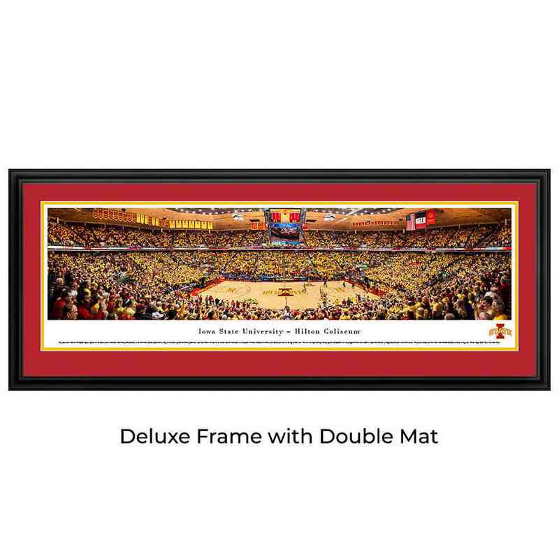 Iowa State Basketball Panoramic Print