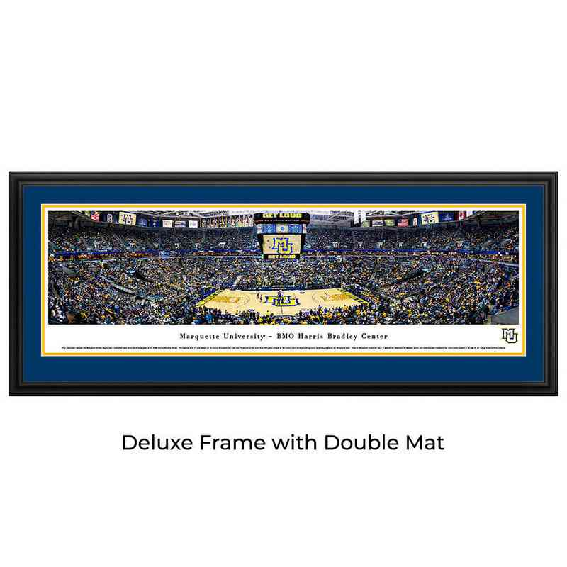 Marquette Golden Eagles Basketball - Panoramic Print