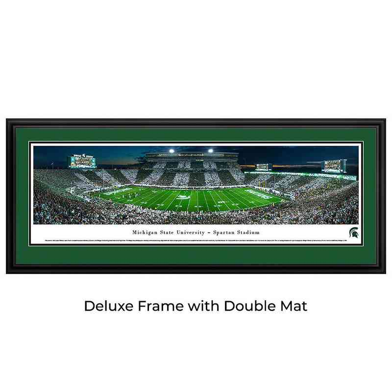 Michigan State Spartans Football - Stripe - Panoramic Print