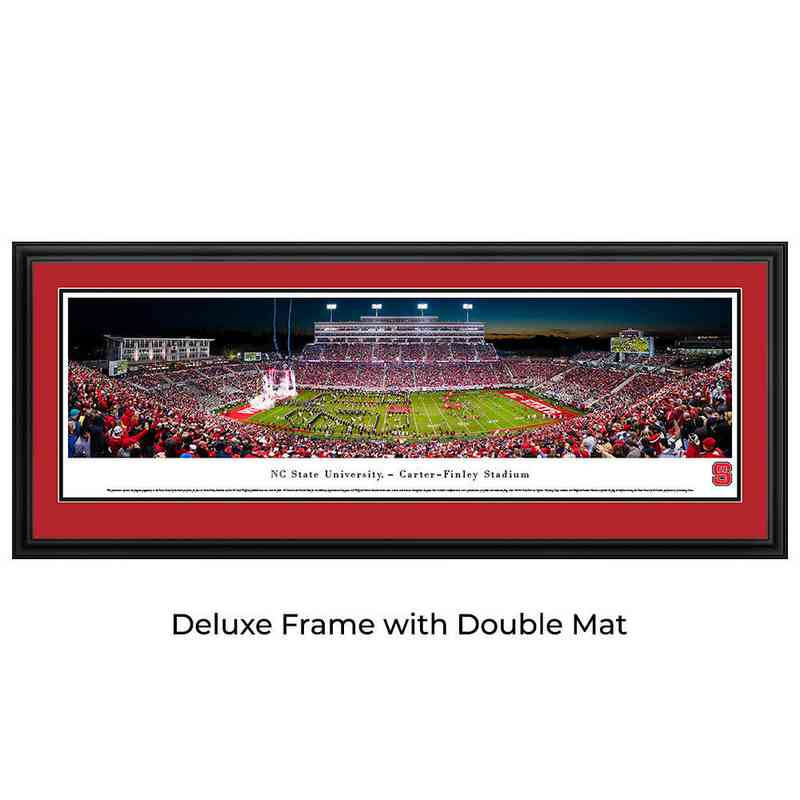 NC State Wolfpack  Football - Night Game - Panoramic Print