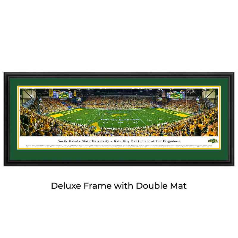 North Dakota State Bison Football - Panoramic Print