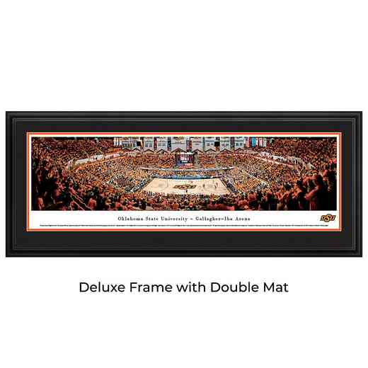 Oklahoma State Cowboys Basketball - Panoramic Print
