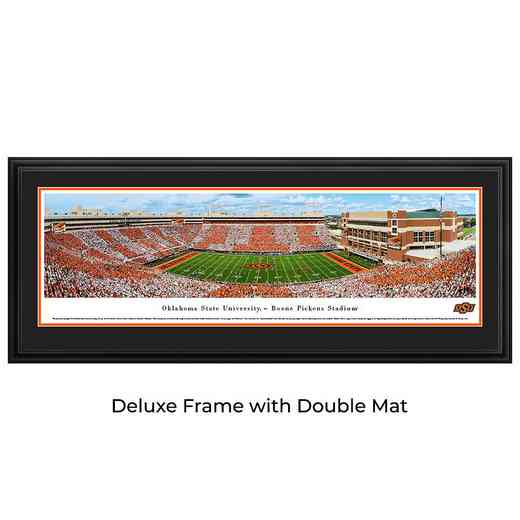 Oklahoma State Cowboys Football - Stripe Game - Panoramic Print