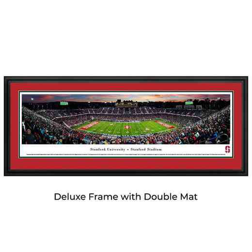 Stanford Cardinal Football - 50 Yard Line - Panoramic Print