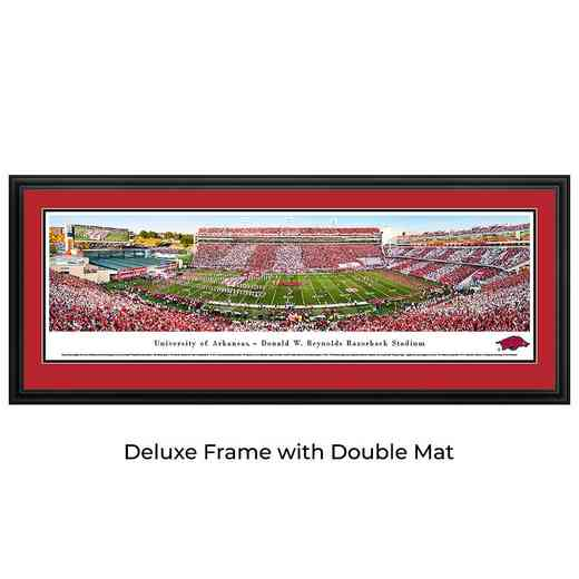 Arkansas Razorback Football - Stripe - Panoramic Print