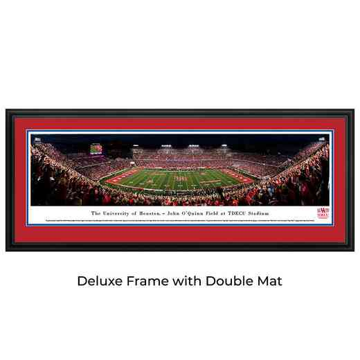 Houston Cougars  Football - Night Game - Panoramic Print