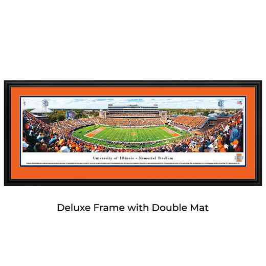 Illinois Fighting Ilini Football - Panoramic Print