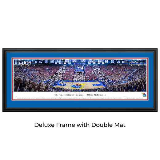 Kansas Jayhawks Basketball - Battle Of The Blue - Panoramic Print