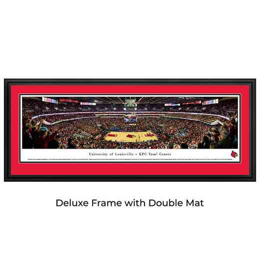 Louisville Cardinals Basketball - Panoramic Print