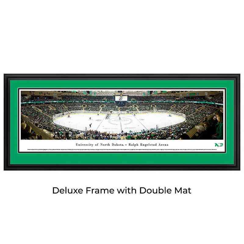 North Dakota Fighting Hawks Hockey - Panoramic Print