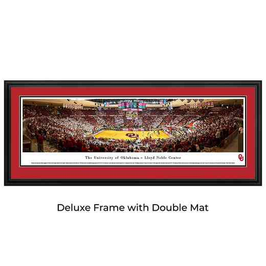 Oklahoma Sooners Basketball - Panoramic Print