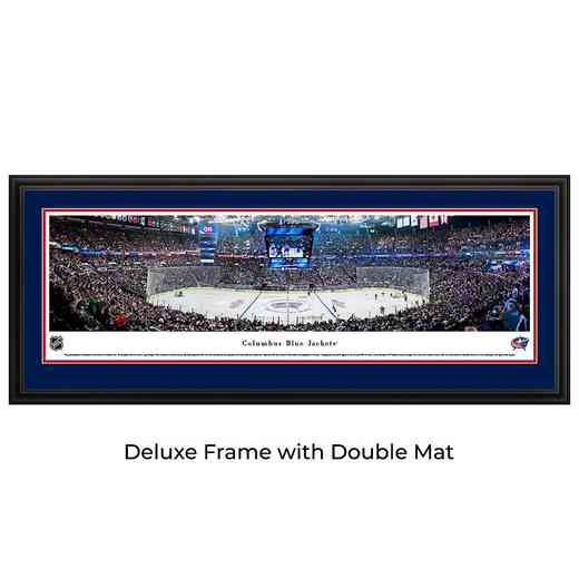 Columbus Blue Jackets - Center Ice - Panoramic Poster