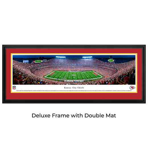 Kansas City Chiefs - Night Game - Panoramic Print