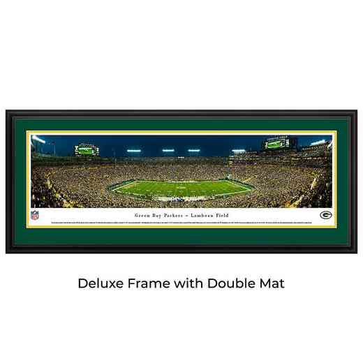 Green Bay Packers - Night Game - Panoramic Print