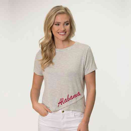 Alabama  Perry Zig Zag Tee by Flying Colors