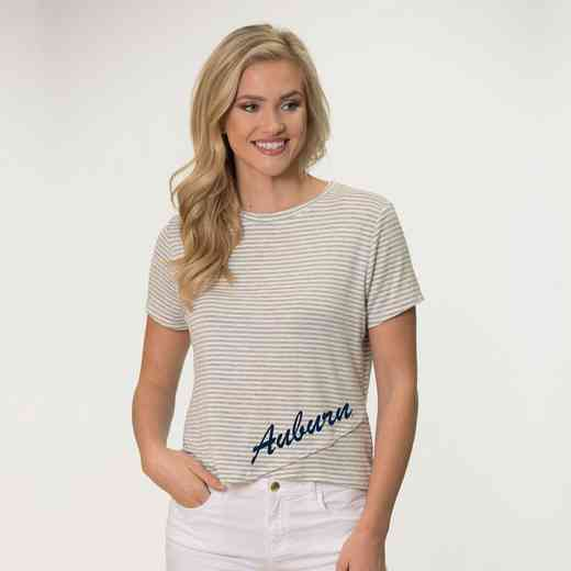 Auburn  Perry Zig Zag Tee by Flying Colors