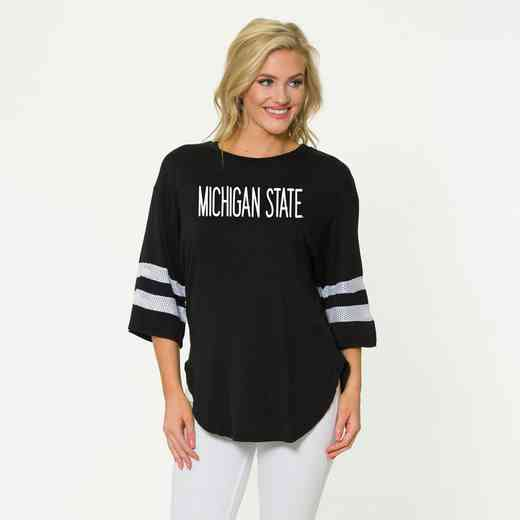 Michigan StateJordan Short Sleeve Gameday Jersey by Flying Colors
