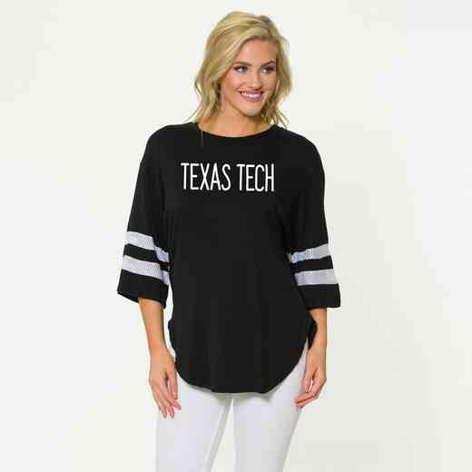 Texas Tech Jordan Short Sleeve Gameday Jersey by Flying Colors