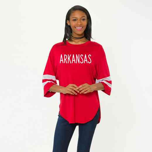 Arkansas Jordan Short Sleeve Gameday Jersey by Flying Colors