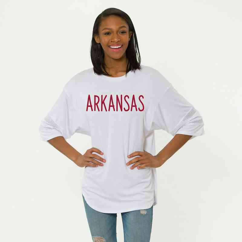Arkansas Jordan Short Sleeve Gameday Jersey by Flying Colors