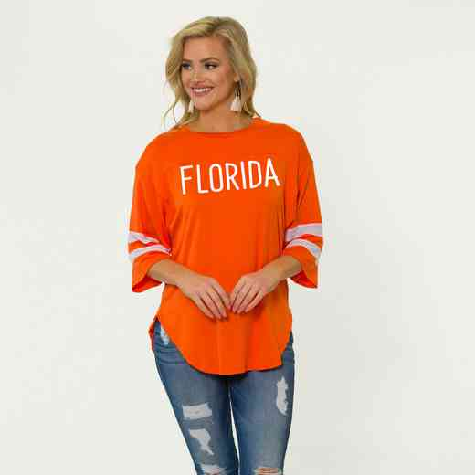 Florida Jordan Short Sleeve Gameday Jersey by Flying Colors