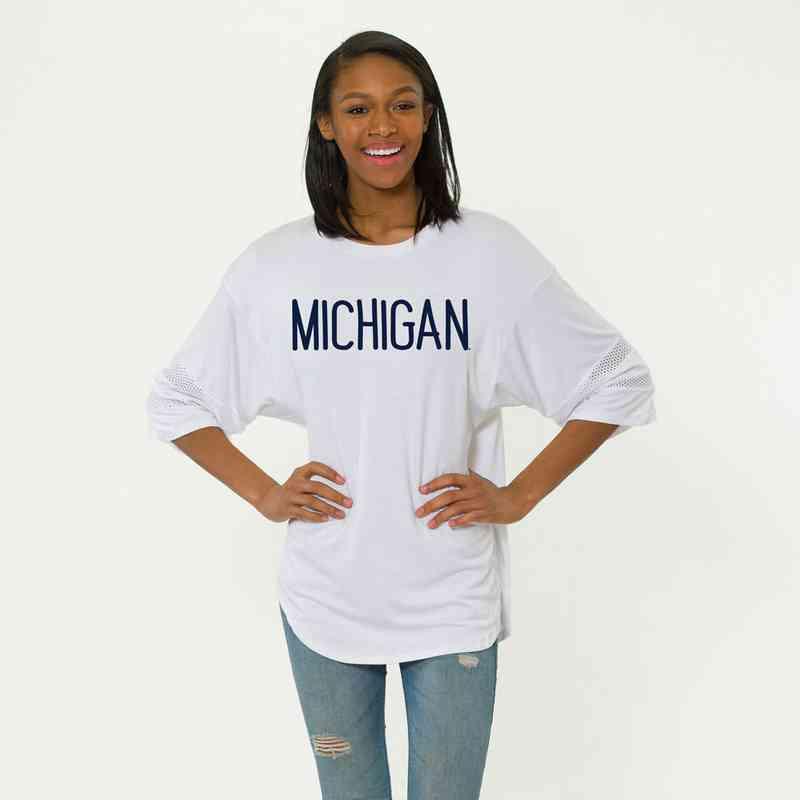 Michigan Jordan Short Sleeve Gameday Jersey