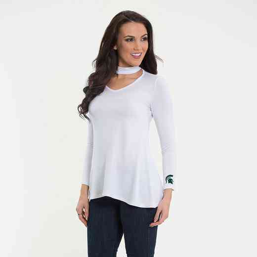 Michigan State  Chelsea Choker Top by Flying Colors