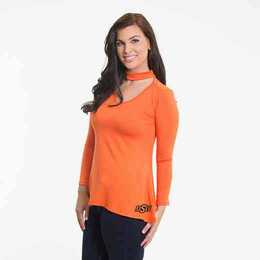 Oklahoma State  Chelsea Choker Top by Flying Colors