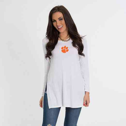 Clemson- Marie Side Slit Tunic