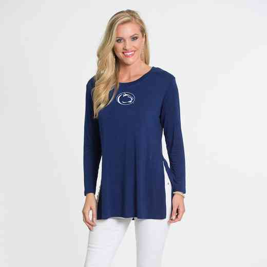 Penn State- Marie Side Slit Tunic by Flying Colors