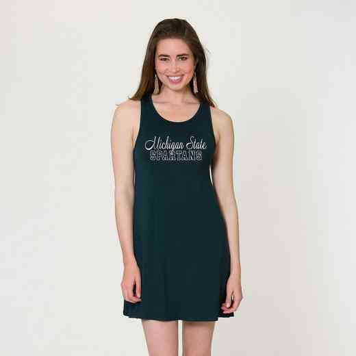 Michigan State - Tori Tent Dress by Flying Colors