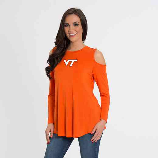 Virginia Tech Courtney Cold Shoulder by Flying Colors