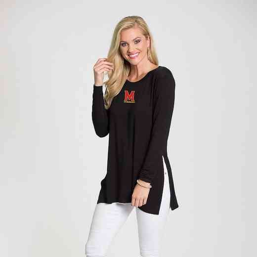 Maryland-Marie Side Slit Tunic by Flying Colors