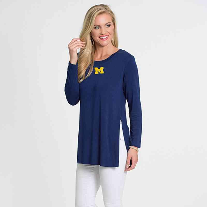 Michigan- Marie Side Slit Tunic