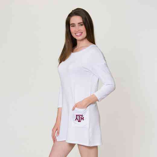 Texas A&M  Brittany Button Back Dress by Flying Colors