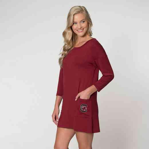 South Carolina Brittany Button Back Dress