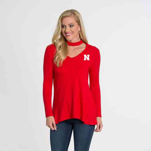 Nebraska  Chelsea Choker Top by Flying Colors