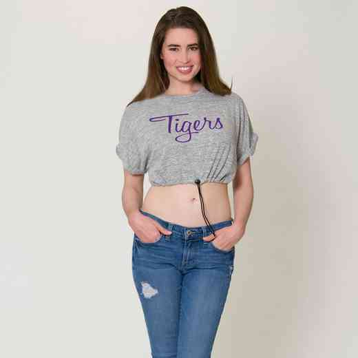 LSU Kara Crop Top by Flying Colors