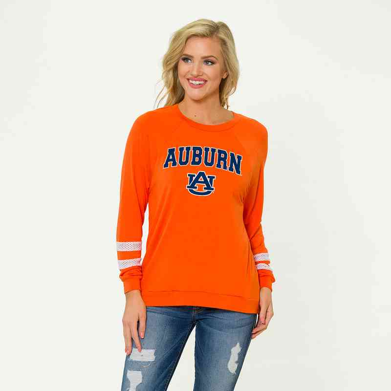 Auburn- Jennifer Long Sleeve Gameday Jersey by Flying Colors