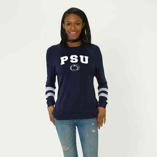 Penn State-Jennifer Long Sleeve Gameday Jersey by Flying Colors