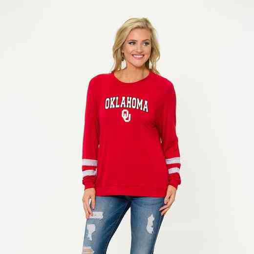 Oklahoma-Jennifer Long Sleeve Gameday Jersey by Flying Colors