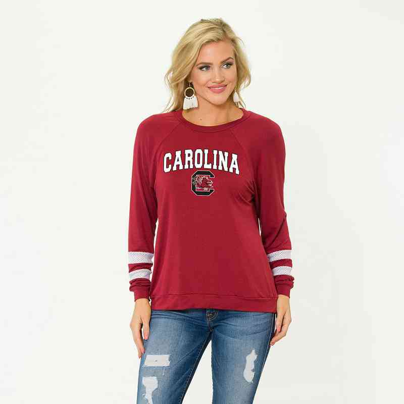 South Carolina-Jennifer Long Sleeve Gameday Jersey by Flying Colors