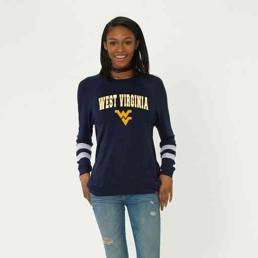 West Virginia-Jennifer Long Sleeve Gameday Jersey by Flying Colors