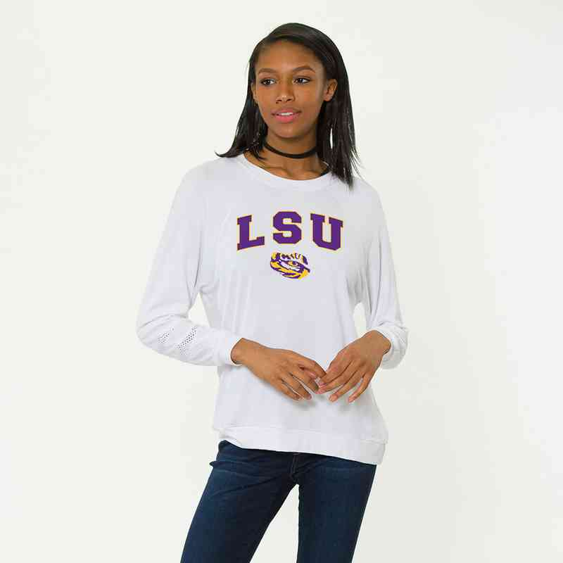 LSU-Jennifer Long Sleeve Gameday Jersey by Flying Colors