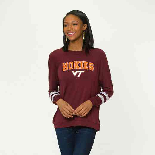 Virginia Tech-Jennifer Long Sleeve Gameday Jersey by Flying Colors