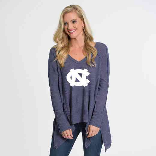 UNC   Melody Thermal Knit Top by Flying Colors